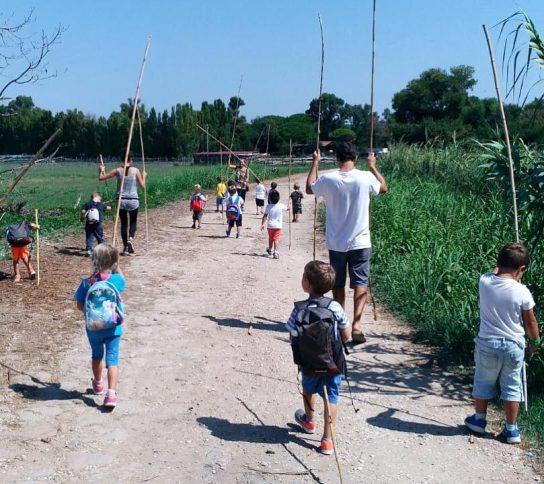 Il modello educativo dell'asilo nel bosco